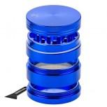 Гриндер Black Leaf - 4-части - синий - 50мм