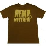 Футболка из конопли SATORI Hemp Movement - OLIVE