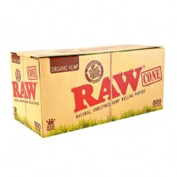 Конусы RAW Organic Hemp King Size 800шт