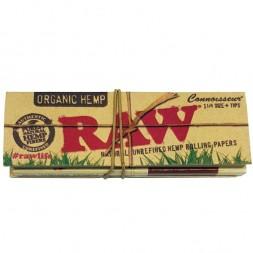 Бумага RAW Connoisseur 1 1/4 Organic Hemp